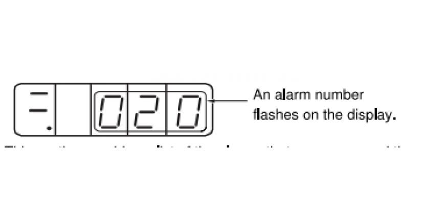 Servo Motor Alarm Listesi, Anlamları ve Düzeltme Ayarları