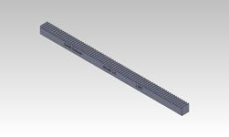 ŞAHİN RULMAN / Kramayer Dişli Modül 2,5 25x25 L-500