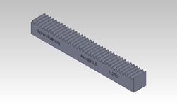 ŞAHİN RULMAN / Kramayer Dişli Modül 2,5 30x30 L-250