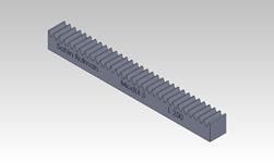 ŞAHİN RULMAN / Kramayer Dişli Modül 3 25x25 L-250