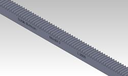 ŞAHİN RULMAN / Kramayer Dişli Modül 3 30x30 L-3000