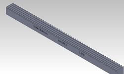 ŞAHİN RULMAN / Kramayer Dişli Modül 3 30x30 L-500
