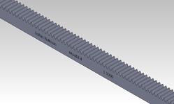 ŞAHİN RULMAN / Kramayer Dişli Modül 4 40x40 L-1000
