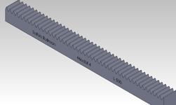 ŞAHİN RULMAN / Kramayer Dişli Modül 4 40x40 L-500