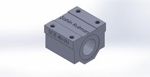 ŞAHİN RULMAN / Lineer Rulmanlar SCE 40 UU