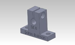 ŞAHİN RULMAN / Lineer Rulmanlar SK 8